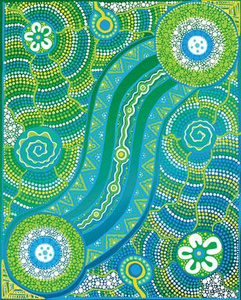 Art by Aboriginal Artist Jordana Angus