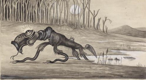 Aboriginal Mythical Creature Bunyip